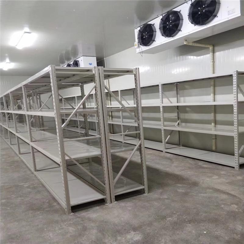 南京江北某医疗器械公司搁板层板货架项目交付